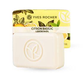 Yves Rocher Energizing Soap 80g #Lemon Basil