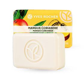 Yves Rocher Energizing Soap 80g #Mango Coriander