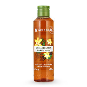 Yves Rocher Relaxing Shower Oil 200ml #Bourbon Vanilla