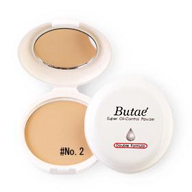 แพ็คคู่ Butae Super Oil-Control Powder Double Formula #No.2 Soft Beige (14g x 2)