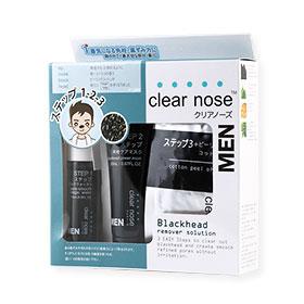 Clear Nose Men Blackhead Remover Solution Set 3 Item