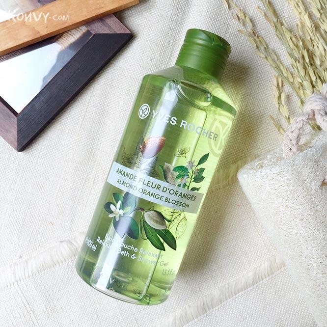 Yves Rocher Relaxing Bath & Shower Gel 400ml #Almond Orange Blossom_1