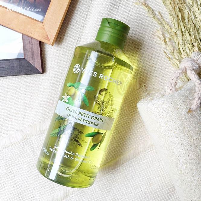 Yves Rocher Relaxing Bath & Shower Gel 400ml #Olive Petitgrain_1