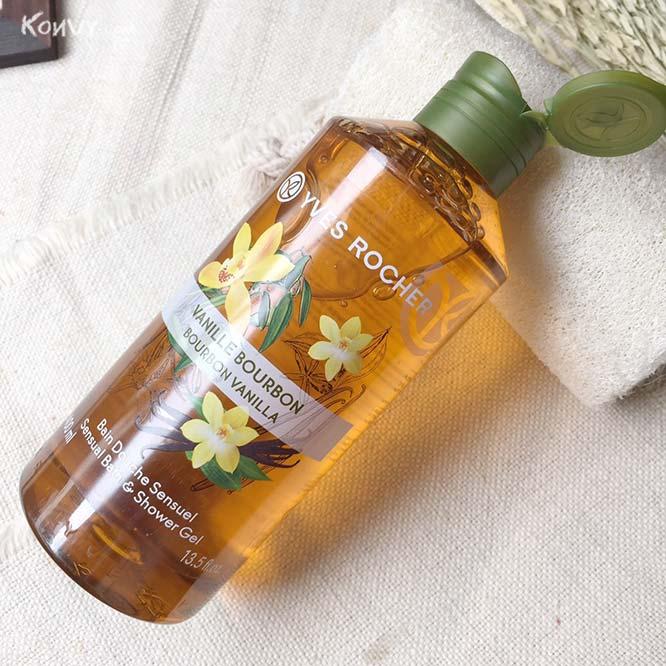 Yves Rocher Sensual Bath & Shower Gel #Bourbon Vanilla_1