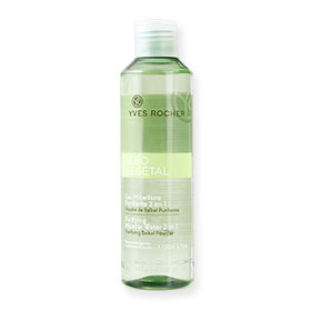 Yves Rocher Purifying Micellar Water 2 in 1 for Combination to Oily Skin 200ml