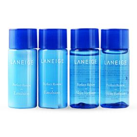 Laneige Perfect Renew Skin Refiner & Emulsion Set 4 Items (15mlx4pcs)