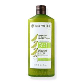 Yves Rocher 3 in 1 Detangling, Body & Shine Shampoo for All Hair Types 300ml #Linden