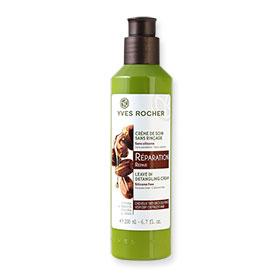 Yves Rocher Repair Leave In Detangling Cream for Very Dry or Frizzy Hair 200ml #Jojoba & Shea