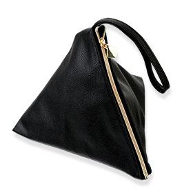 Lancome   Bag Trapezoid Black