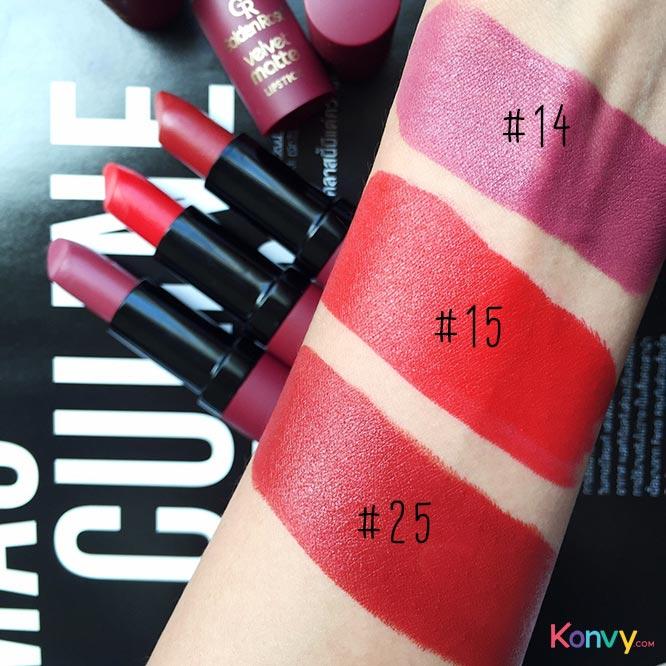 Golden Rose Velvet Matte Lipstick #25_3