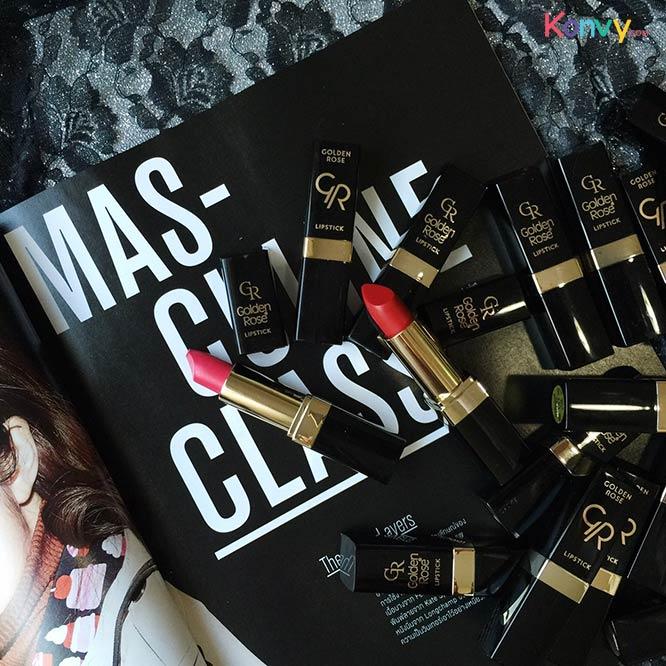 Golden Rose Lipstick Vitamin E #123_1
