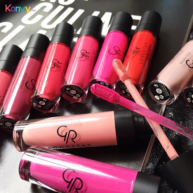 Golden Rose Longstay Liquid Matte Lipstick #01_2