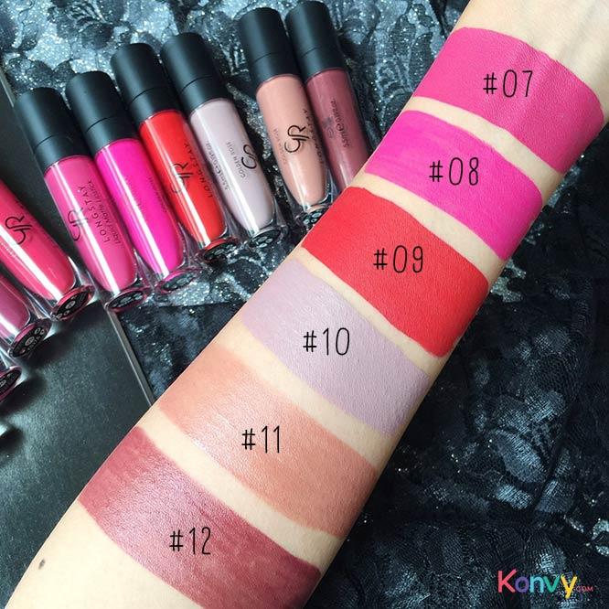 Golden Rose Longstay Liquid Matte Lipstick #09_4