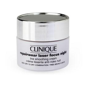 Clinique Repairwear Laser Focus Nihgt Line Smoothing Creamb 15ml