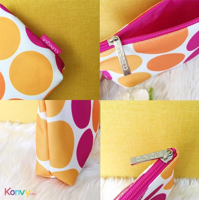 Clinique Polka Dot Cosmetic Bag_2