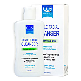 Cos Coseutics Gentle Facial Cleanser For Sensitive Skin 110ml