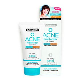Dr.Somchai Acne Moisturizer Oil Control Anti-Acne + Whitening 50g