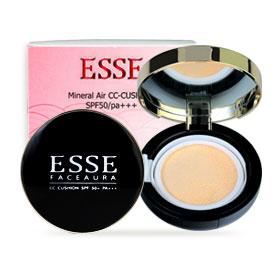 Esse Mineral Air CC-Cushion SPF50/PA+++ 15ml #21 (With Refill 1 pcs)