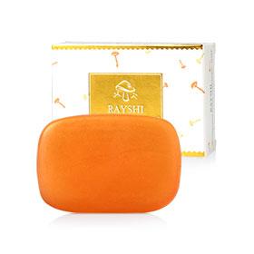 Rayshi Mushroom Gold Collagen Soap 100g