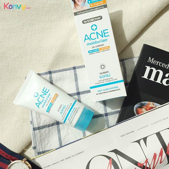 Dr.Somchai Acne Moisturizer Oil Control Anti-Acne + Whitening_1