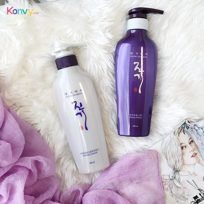 แพ็คคู่ Daeng Gi Meo Ri Vitalizing Shampoo + Treatment_2