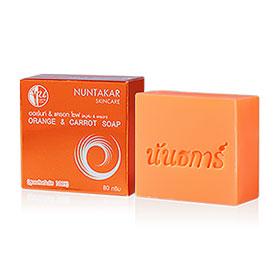 Nuntakar Orange & Carrot Soap 80g