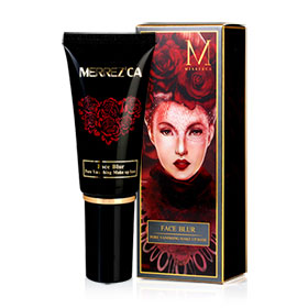 Merrez'ca Face Blur Pore Vanishing Make Up Base 40ml #Pink Color
