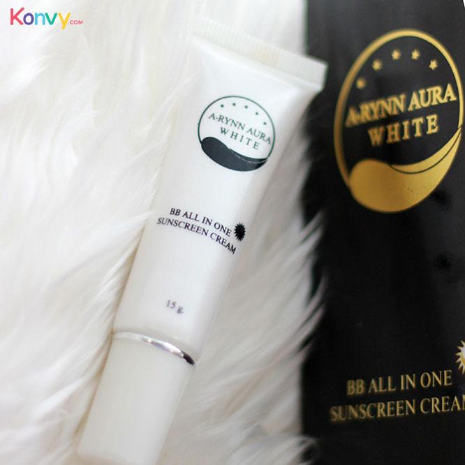 A-RYNN Aura White BB All In One Sunscreen Cream 15g_1
