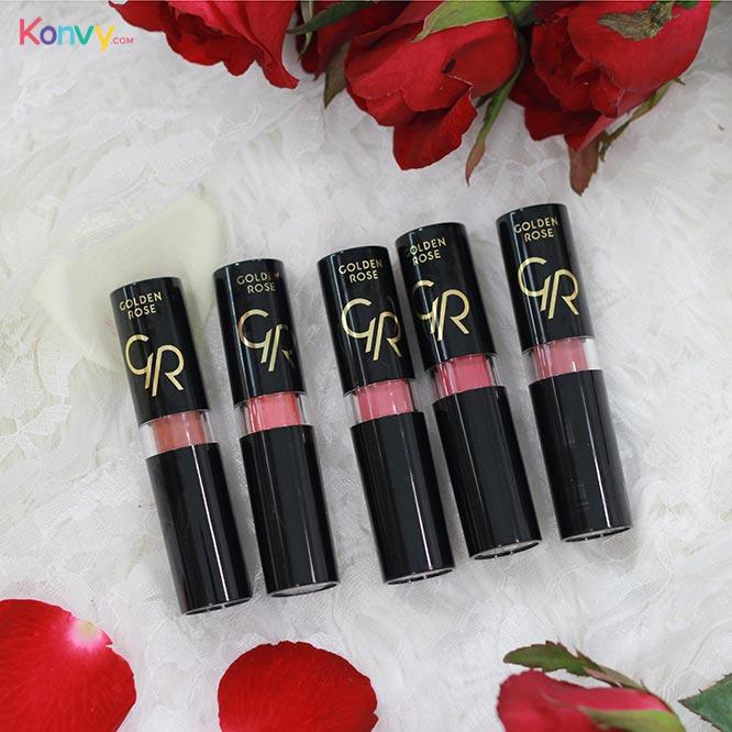 Golden Rose Vision Lipstick Vitamin E (#112 #128 #130 #135 #136 - Random 1pcs)_1