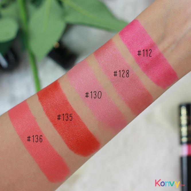 Golden Rose Vision Lipstick Vitamin E (#112 #128 #130 #135 #136 - Random 1pcs)_3