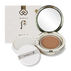 The History of Whoo GongJinHyang Seol Radiant White Moisture Cushion Foundation SPF50+ PA+++ #23