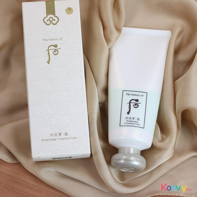 The History of Whoo GongJinHyang Seol Brightening Cleansing Foam_1