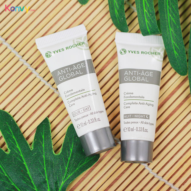 Yves Rocher Anti-Age Global Travel Set 2 Items (Night Care + Day Care)_1