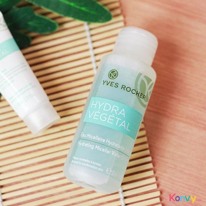 Yves Rocher Hydra Vegetal Travel Set 2 Items (Gel Cream 10ml + Micellar Water 50ml)_1