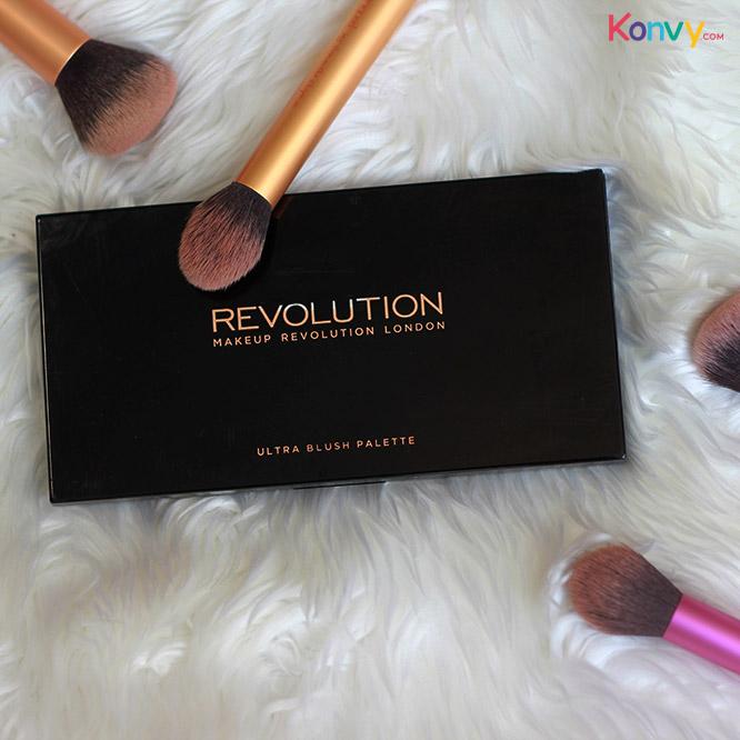 Makeup Revolution Ultra Blush Palette #Golden Sugar 2 Rose Gold_1
