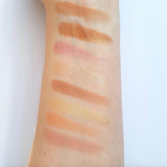 Makeup Revolution Ultra Blush Palette #Golden Sugar 2 Rose Gold_3