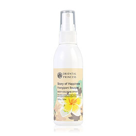 Oriental Princess Story Of Happiness Frangipani Bouquet Body Cologne Spray 100ml