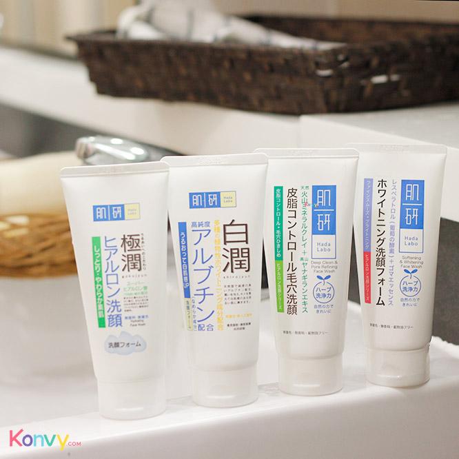 Hada Labo Deep Clean & Pore Refining Face Wash 100g_1