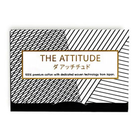 THE ATTITUDE Oil Blotting Cotton Paper 50 Sheets
