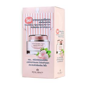 Royal Beauty White Strawberry Yoghurt Sleeping Mask (8g x 6pcs)