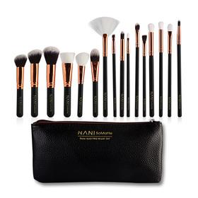 NANI SoMatte Rose Gold PRO Brush Set 15pcs