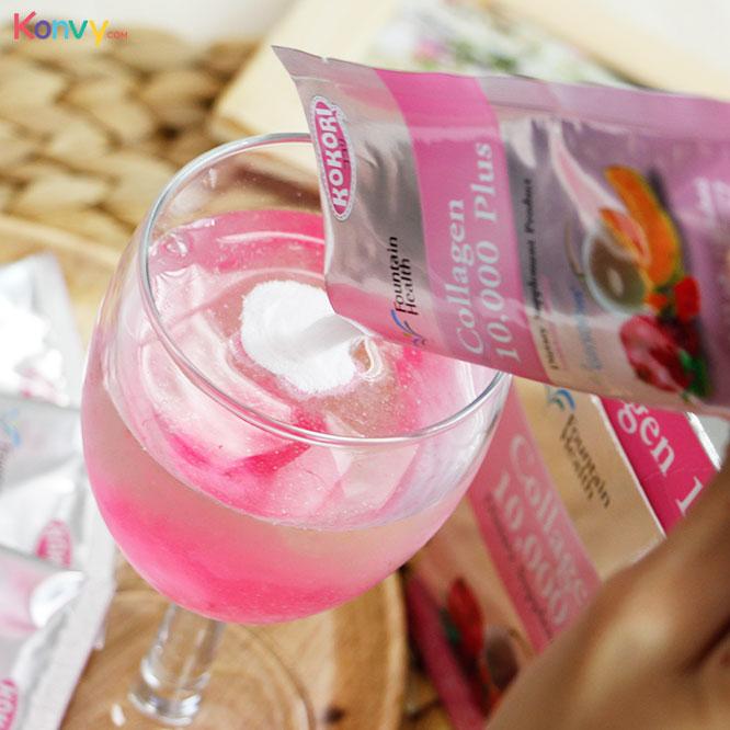 Kokori Collagen 10,000 Plus Dietary Supplement Product (30 Sachets x 1 Boxes)_2