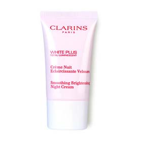 Clarins White Plus Total Smoothing Brightening Night Cream15ml