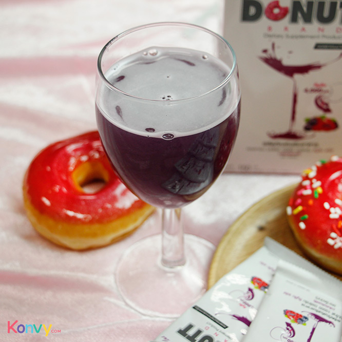 Donutt Collagen 10000mg Plus (15g x 10 Sachets) #Mixed Berry Flavor_4