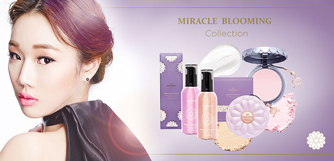 Bisous Bisous Miracle Blooming Skin Finisher Powder Pact Super Smooth Pink_1