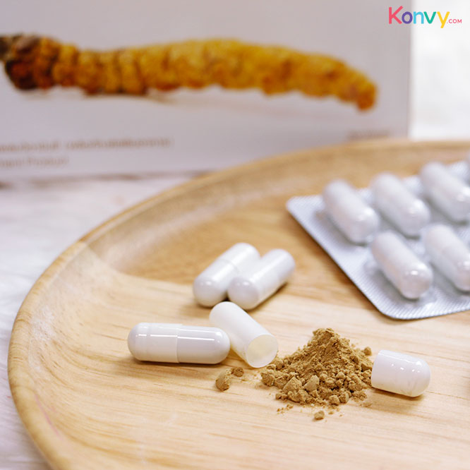 Hi-Balanz Cordyceps Extract Plus Ascorbic Acid 30 Capsules_2