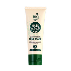 BK Mask Acne Mask Tea Tree Oil Green Tea 30g