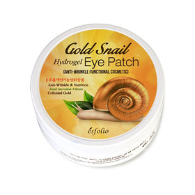 Esfolio Gold Snail Hydrogel Eye Patch 90g (60 sheets)