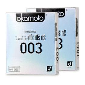 Okamoto Zero Zero Three Condom 52mm (2pcsx2boxes)