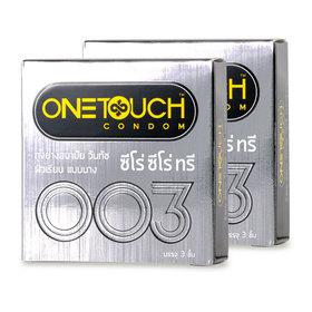 One Touch Zero Zero Three condom 52mm (3pcsx2boxes)